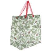 Leaves & Holly Berries Gift Bag