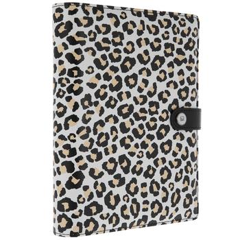 Leopard Print Personal Planner Binder