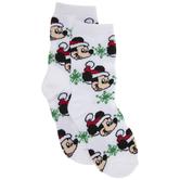 Christmas Mickey Mouse Crew Socks