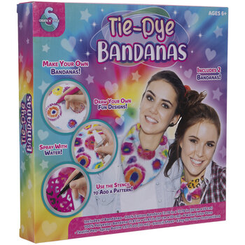 Tie Dye Bandana Kit