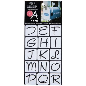 Modern Fun Font Stencils