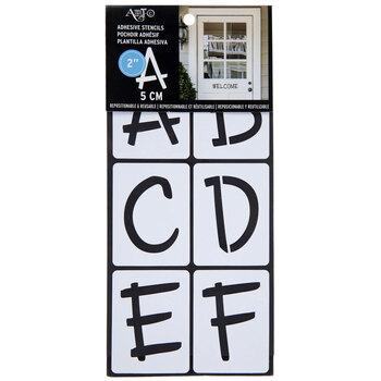 """Fun Font Stencils - 2"""""""