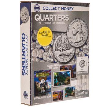 Quarters Collect Money Kit