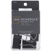 Black Binder Clips
