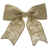 Glitter Mesh Bow