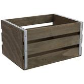 Wood Plank Box