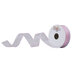Light Pink Wired Edge Sheer Ribbon - 7/8