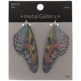 Holographic Butterfly Wing Pendants