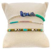 Turquoise Beaded Trio Bracelets