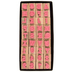 Upper Case Traditional Alphabet Rubber Stamps