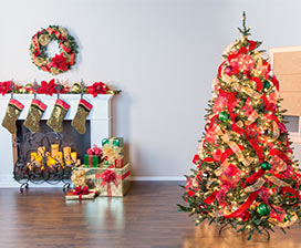 Christmas Tree Basics: Fillers & Ribbon Video