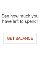 See how much you have left to spend