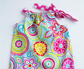 Learn to Sew: Pillowcase Dress Video