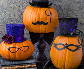 Gourds and Ladies: Hatter Halloween