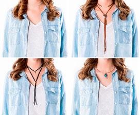 Choker Necklace 4 Ways