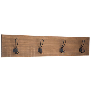 Wood Wall Decor With Hooks- NOW .50! Original price .99!