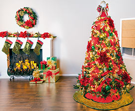 Christmas Tree Basics: Ornaments & Finishing Touches Video