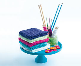 Crochet Basics: Darling Dishcloths Video