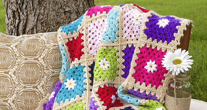 Dare to Be Square Afghan