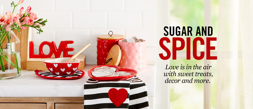 Sugar & Spice - Love Is In The Air With Sweet Treats, Decor & More