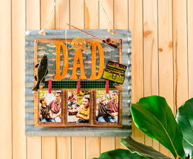 Father's Day Photo Display