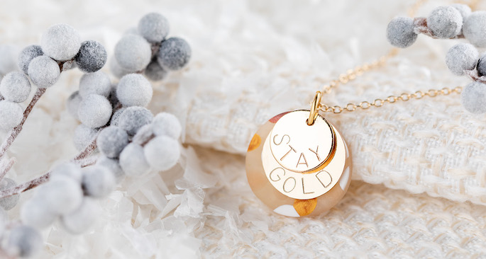 Dainty Inspirational Necklace