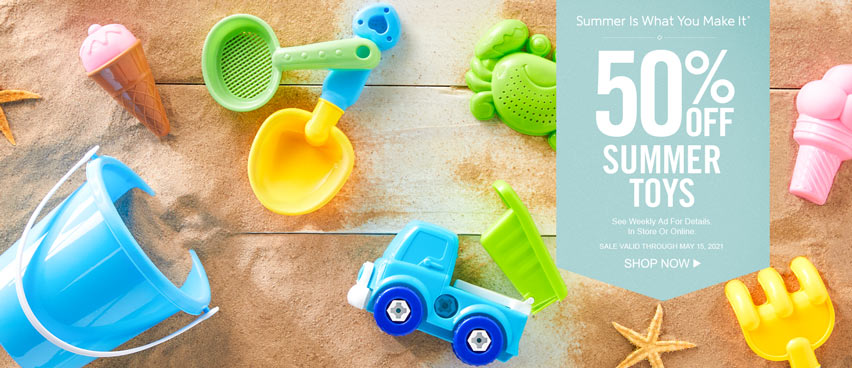 50 Off Summer Toys