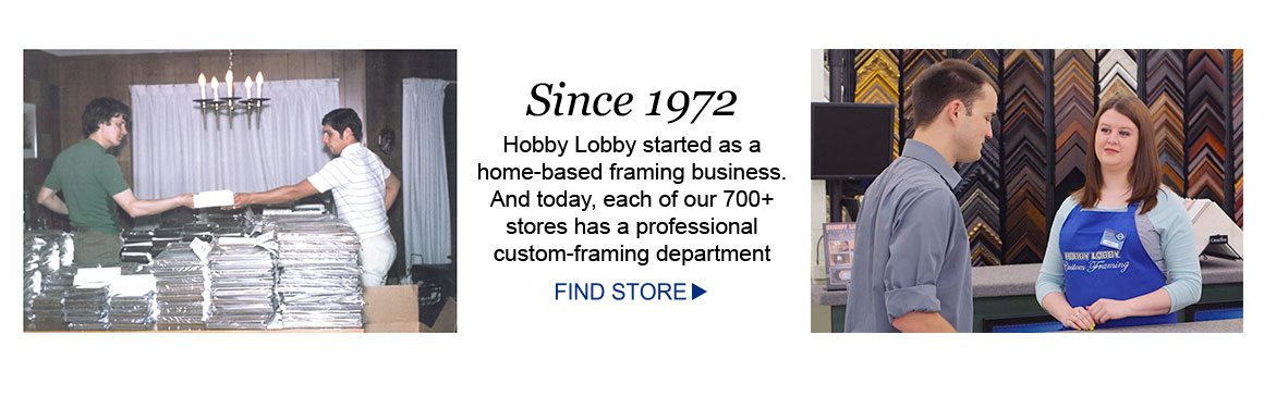 Hobby Lobby Has Over 40 Years Experience