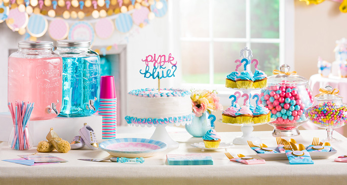 Gender Reveal Party Inspiration: The Big Reveal