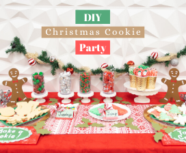 DIY Christmas Cookie Party