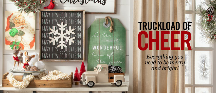 Truckload of Cheer - Everything You Need To Be Merry And Bright!
