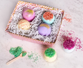 Bath Bombs and Lip Balms: Spa Day DIYs