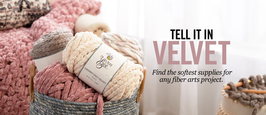 Tell It In Velvet - Find super soft yarn and more.