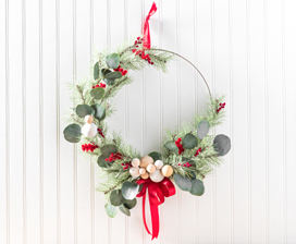 Pine & Eucalyptus Christmas Wreath