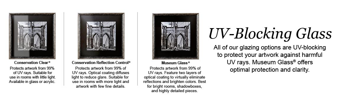 Find Different Types of UV Blocking Glass At Hobby Lobby