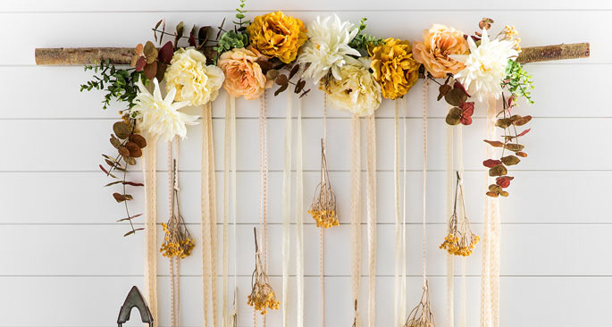 Fall Floral Hanging