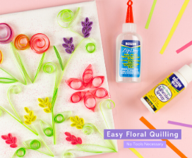 DIY Easy Floral Quilling