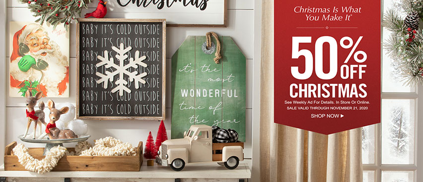 Sabi Boutique Christmas Commercial 2020 Hobby Lobby Arts & Crafts Stores