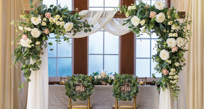 Wedding Greenery: Take a Vow